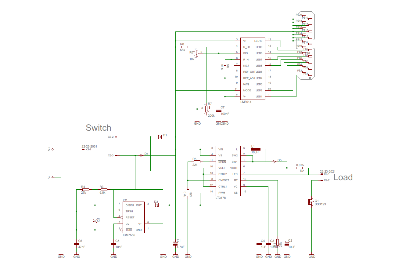 led dimming with pwm   nmos