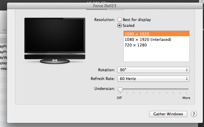 Dell U2713H on Mac: forcing RGB mode instead of YCbCr