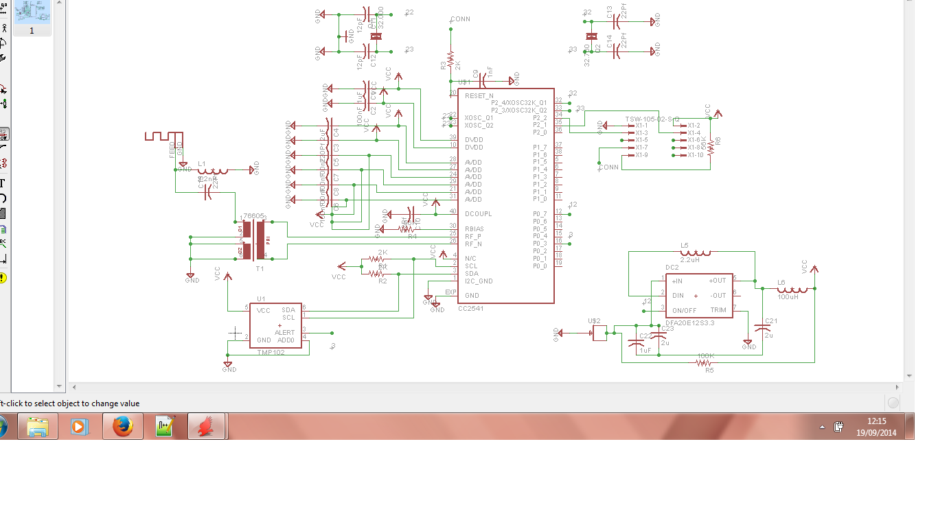 Schematic diagram of my first pcb board embdev preview image for 12g ccuart Choice Image