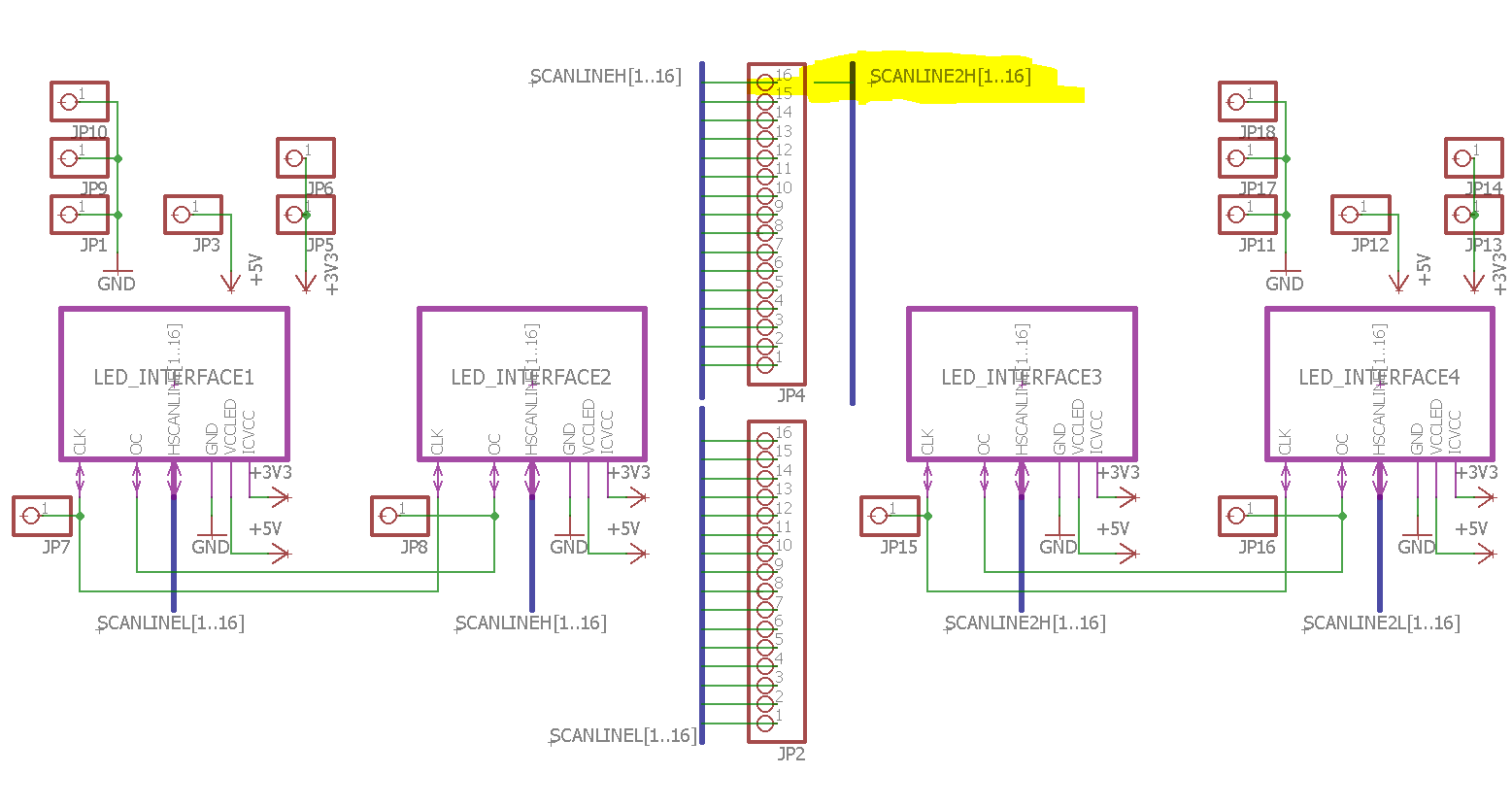 Eagle Connect Two Busses To Same Pin 4 Post Wiring Diagram Preview Image For Plan
