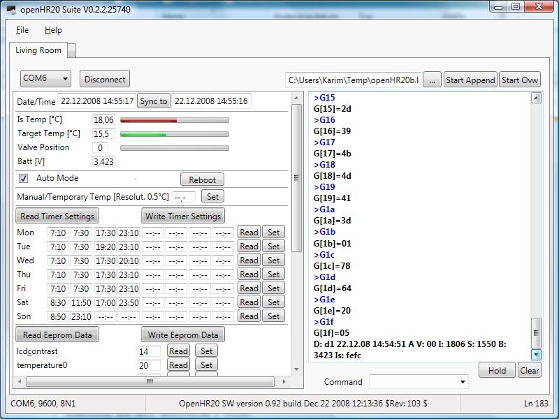 OpenHR20: Firmware for Honeywell Rondostat HR20E - EmbDev.net